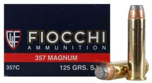 Fiocchi Ammo 357 Magnum 125 Gr SJSP (Per 50) Md: 357C