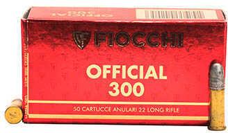 Fiocchi Ammo 22 Long Rifle 40 Gr Pistol Super Match (Per 50) Md: 22Sm300