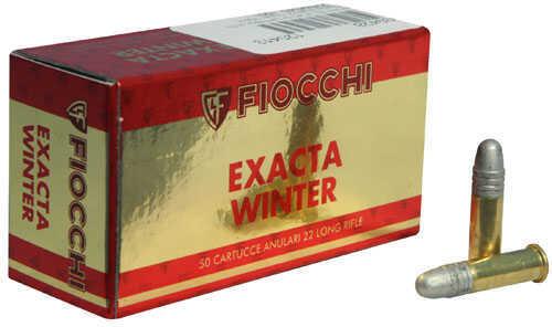 Fiocchi Ammo .22 (Long Rifle) 40 Grain Exacta Winter Super Match (per 50) Md: 22SM340