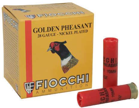 "Fiocchi Ammo 28 Gauge 2.75"" Size 7.5, 7/8 Oz (Per 25) Golden Pheasant Md: 28GP75"
