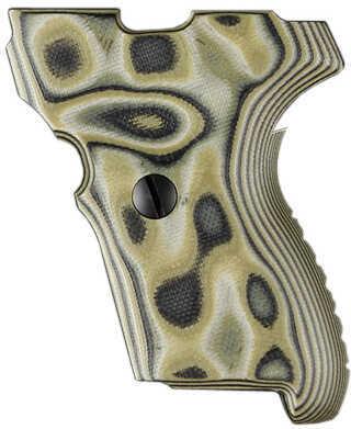 Hogue Sig P224 DAK Grip G10 G-Mascus Green Md: 22148