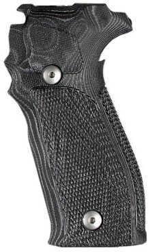 Hogue Sig P226 Grip DA/SA Allround Checkered G10 G-Mascus Black Md: 23759
