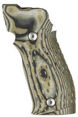 Hogue Sig P226 SAO X5/X6 Grip Chain G10 G-Mascus Green Md: 33118