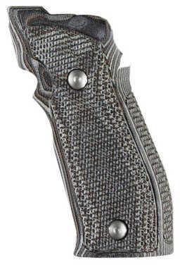 Hogue Sig P226 SAO X5/X6 Grip Pirahna G10 G-Mascus Black/Grey Md: 33137