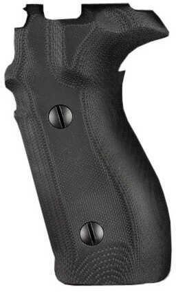 Hogue Sig P227 DA/SA Grip G10 Solid Black Md: 47169