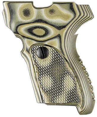 Hogue Sig P224 DAK Grip Checkered G10 G-Mascus Green Md: 22158