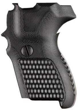 Hogue Sig P224 DA/SA Grip Pirahna G10 Solid Black Md: 22139