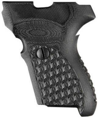 Hogue Sig P224 DAK Grip Chain G10 Solid Black Md: 22109