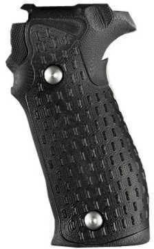 Hogue Sig P226 Grip DA/SA All Chain G10 Solid Black Md: 23109