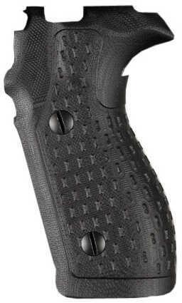 Hogue Sig P227 DA/SA Grip Chain G10 Solid Black Md: 47119