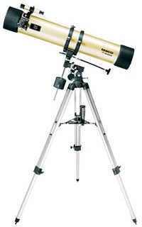 Tasco Gold Refractor Telescope 114x900mm, 675x, 6x24 Md: 40114675