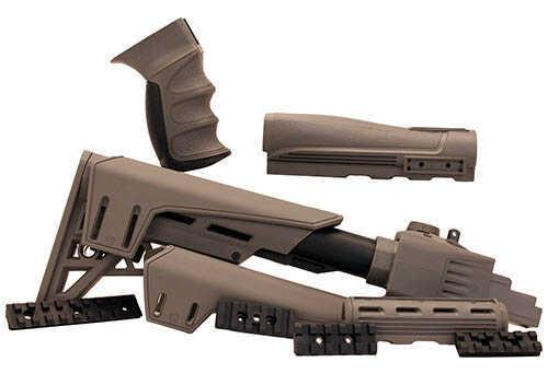Advanced Technology Intl. AK-47 TactLite Side Folding Stock Pack w/SRS Destroyer Grey Md: B.2.40.1027