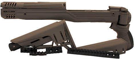 Advanced Technology Intl. Ruger Mini 14 TactLite Adjustable Side Folding Stock w/SRS Destroyer Grey Md: B.2.40.1210