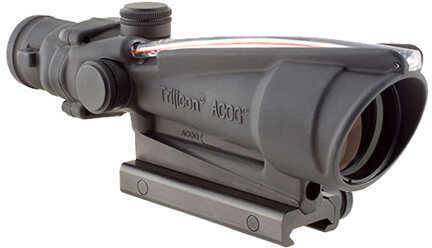 Trijicon ACOG 3.5X35mm Dual Illuminated Amber Chevron, 300 Blackout Md: Ta11-C-100415