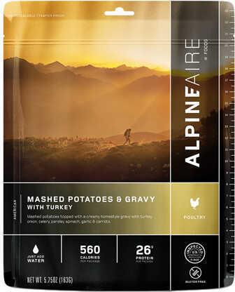 Alpine Aire Foods Mashed Potatoes & Gravy w/Turkey Serves2 Md: 61402