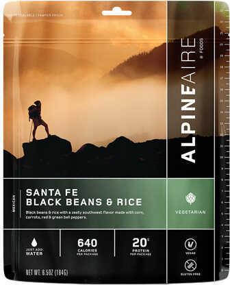 Alpine Aire Foods Santa Fe Black Beans & Rice Serves 2 Md: 60112