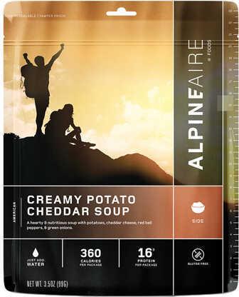 Alpine Aire Foods Creamy Potato Cheddar Soup Serves 2 Md: 60701