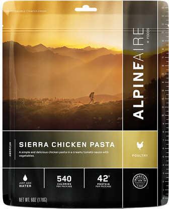 Alpine Aire Foods Sierra Chicken Pasta Serves 2 Md: 60302