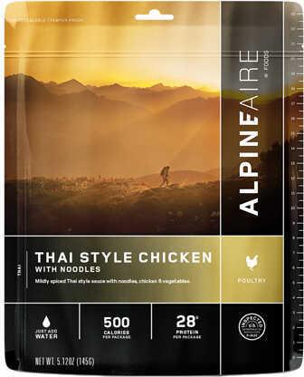Alpine Aire Foods Thai Style Chicken w/Noodles Md: 60424