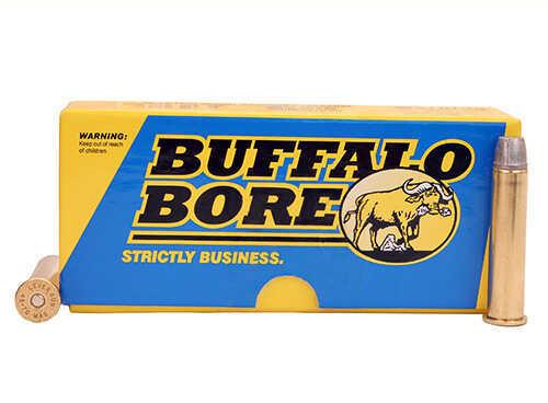 Buffalo Bore Ammunition 45-70 Low Recoil Standard Pressure (Per 20) 430 Grain HC LBT-LFN Md: 8H/20