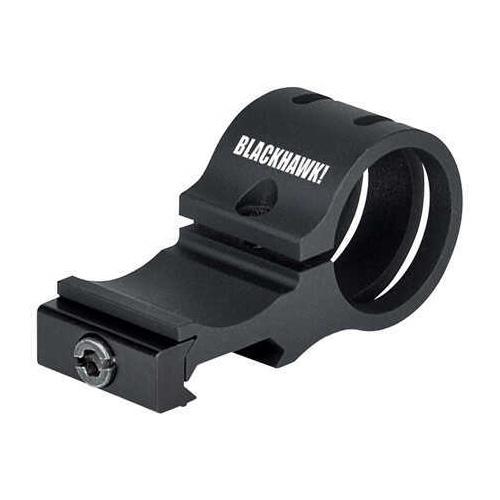 BlackHawk Offset Flashlight Rail Mount Black Md: 71Rm01Bk