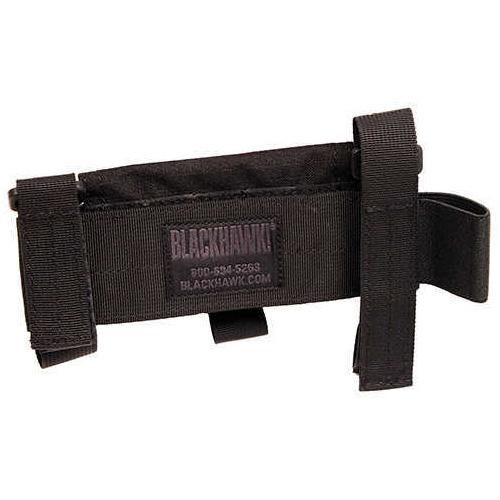 BlackHawk Buttstock Shotgun Shell Pouch Type 5 Black Md: 52Bs02Bk