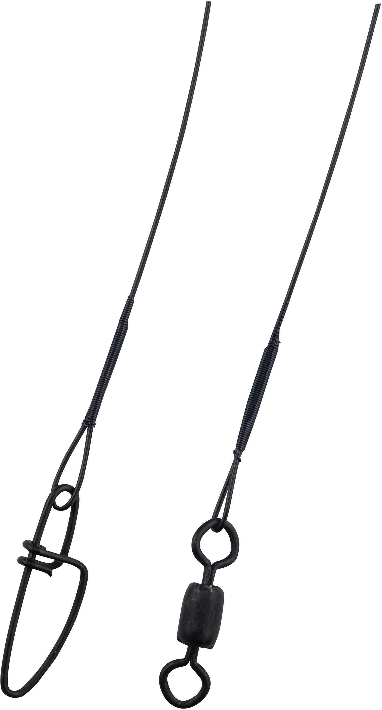 "Berkley Wire-Wound Steelon Leaders 6"" 20 lbs, Black 1011678"
