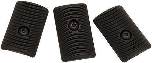 Ergo Rigid Polymer EZ Mount™ KeyMod Slot Covers, 3 Pack, Black