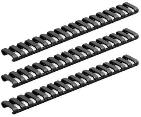 Ergo 25 Slot Ladder Low Pro Rail Covers (3 Pack) Black Md: 4376-3PK-BK