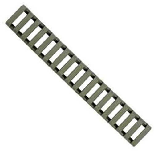 Ergo 18 Slot Ladder Low Pro Rail Covers 3-Pack, Foliage Green Md: 4373-3PK-Foliage