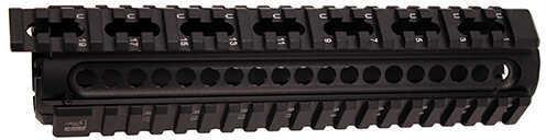 "Mako Group AR15 Mid-Size Aluminum Quad Rail 8"" Md: NFR-M5"