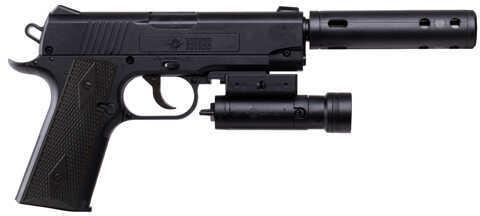 Crosman TAC1911Co2 Pistol w/Laser 4.5mm Md: 40005