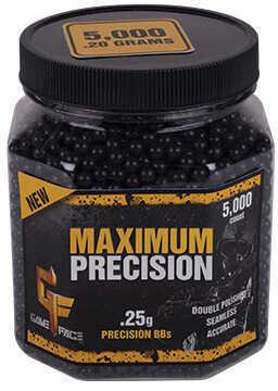 Crosman Maximum Precision 6mm BB Black .25g (Per 5000) Md: 25GPB5J