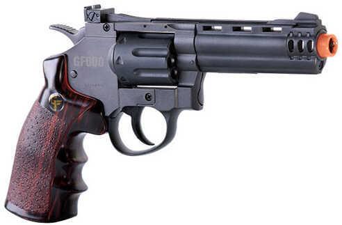 Crosman GF600 8 Shot, 357 Revolver, CO2 Powered And Semi-Auto