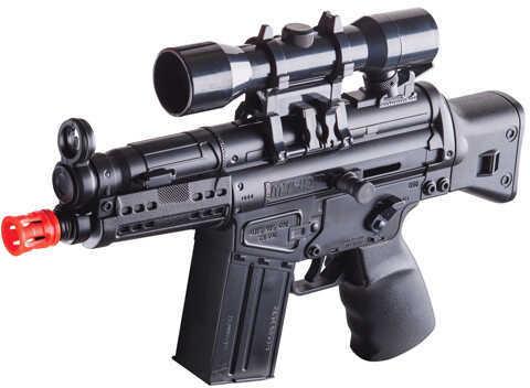 Crosman Warrant Black Dual Power M4-Style Mini AEG 6mm Air Rifle