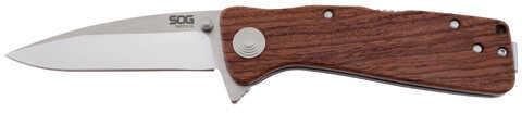 SOG Knives Twitch Xl Wood Handle, Boxed Md: TWI24-Bx