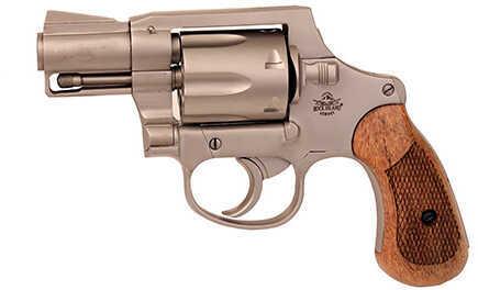 Revolver Rock Island Armory M206 Matte Nickel Spurleless 38Spl 6rd 51289