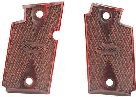 SigTac 938 Ambi Rosewood Grip Set Md: Grip-938-RSWD-AMBI
