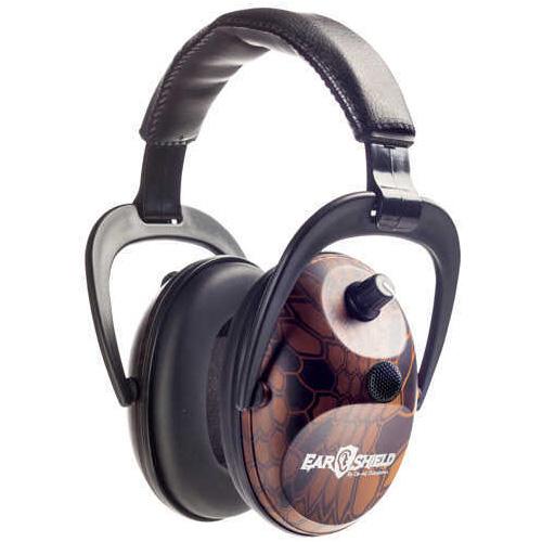 Do-All Traps Do-All Earshield Dual Muff Krypteck Typhon/Orange Md: ESDM-KTYO