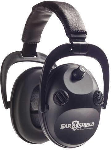 Do-All Traps Do-All Earshield Quad Muff W/Aft Black Md: ESQM-B