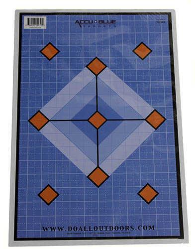 "Do-All Traps Do-All Paper Target Accu Blue Diamond, 12x18"" Md: PT14"