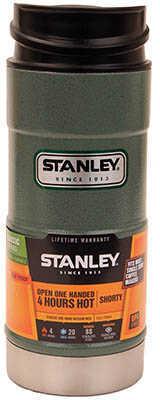 Stanley Classic One Hand Vacuum Mug 12 Oz Green Md: 10-01569-001