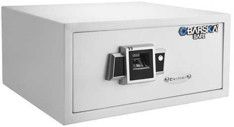 Barska Optics Biometric Safe Bx-300, White Md: Ax12404