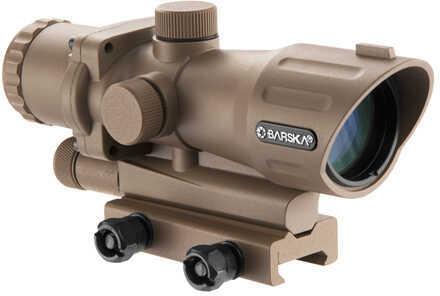 Barska Optics 4X30mm ARX, Mil-Dot. Tan Md: AC12454
