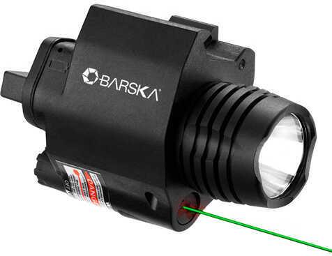 Barska Optics Barska Green Laser Sight With 200 Lumen Flashlight - Black AU12394