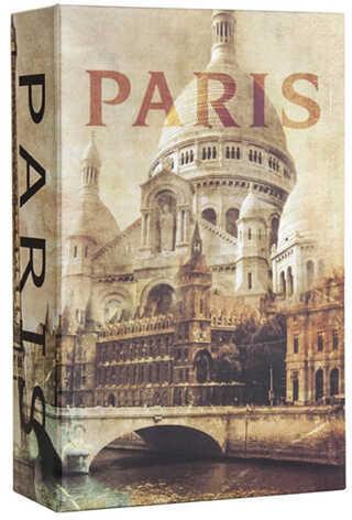Barska Optics Paris Book Lock Box With Combination Lock Md: Cb12362