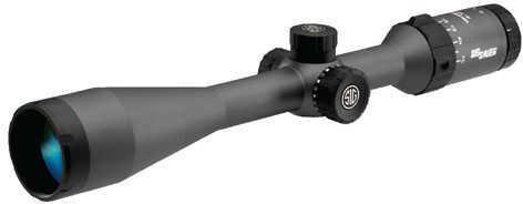Sig Sauer Whiskey 5 SFP Hunting Riflescope 3-15x52mm, Standard Quadplex Reticle,