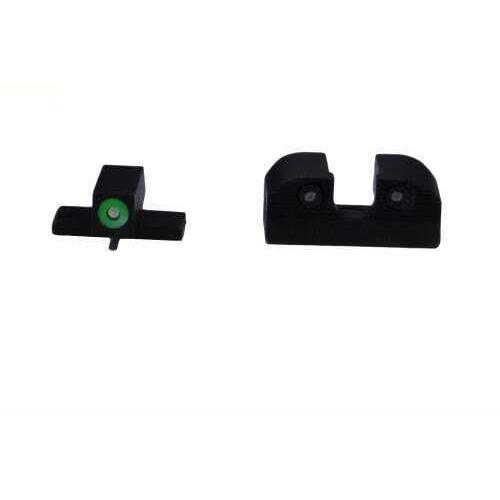 Sig Sauer X-Ray3 Pistol Sight #6 Green Front, #8 Rear, Round (U) Notch Md: SOX10002