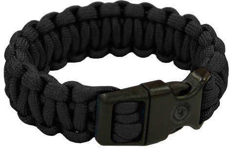 "Ultimate Survival Technologies Survival Bracelet 7"", Black Md: 20-295B7-20"