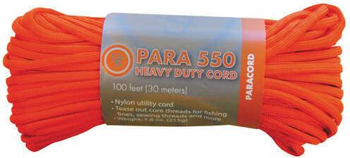 Ultimate Survival Technologies Paracord 550 100' Hank Orange Md: 20-5X100-35